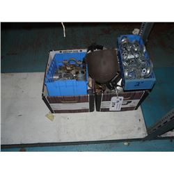 LOT OF CABLING, CONNECTORS, COUPLERS AND MORE