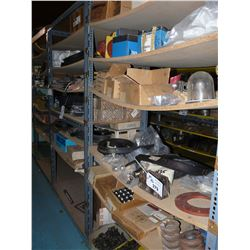 CONTENTS OF BAY OF RACKING INC. STEEL BALLS, HARDWARE AND MORE