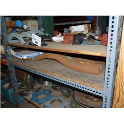 CONTENTS OF BAY OF RACKING INC. COUPLERS, IMPELLERS AND MORE