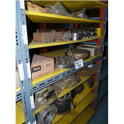 CONTENTS OF BAY OF RACKING INC. COUPLERS, IMPELLERS, GASKETS AND OTHER HARDWARE