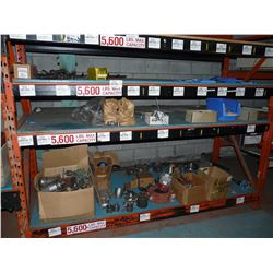 CONTENTS OF BAY OF RACKING INC. HEAVY DUTY COUPLERS, SWITCHES, VALVES AND MORE