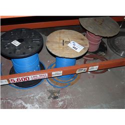 LOT OF HEAVY DUTY CABLING