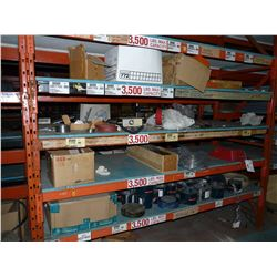 CONTENTS OF BAY OF RACKING INC. ELECTRICAL HARDWARE, BELTING AND MORE