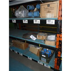 LOT OF ELECTRONIC COMPONENTS/EQUIPMENT