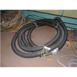 LARGE LENGTH OF EXHAUST HOSE