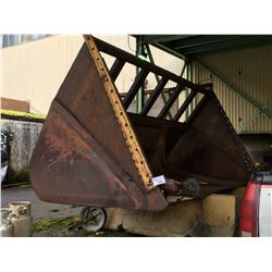 APPROX. 10 CUBIC YARD CHIP BUCKET FOR LOADER