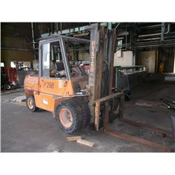 HYSTER FORKLIFT, MODEL H110XL, 10,000 LB CAPACITY, SIDE SHIFT, DUAL FRONT AXLE
