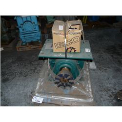 SUMITOMO 11:1 REDUCER WITH BOX OF MISC. PARTS