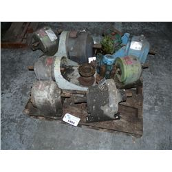PALLET OF ASSORTED MOTORS/REDUCERS