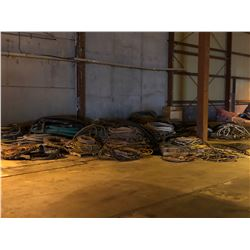 LARGE QUANTITY OF ASSORTED HEAVY DUTY HOSE/AIR LINE
