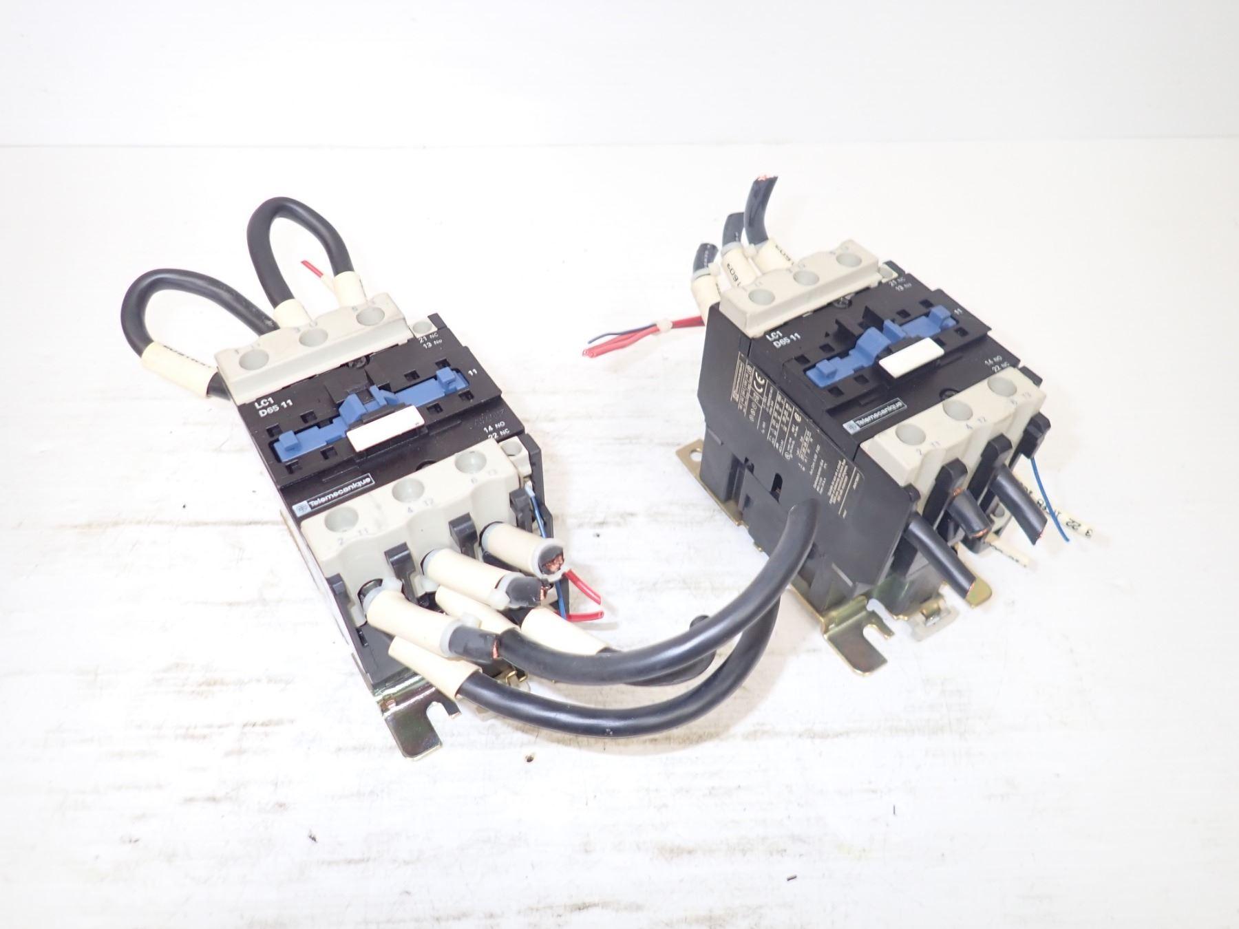 image 1 : telemecanique lc1 d65 11 contactor