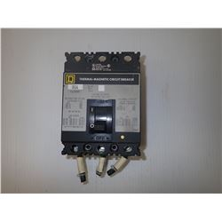 Square D FAL34080 Thermal-Magnetic Circuit Breaker