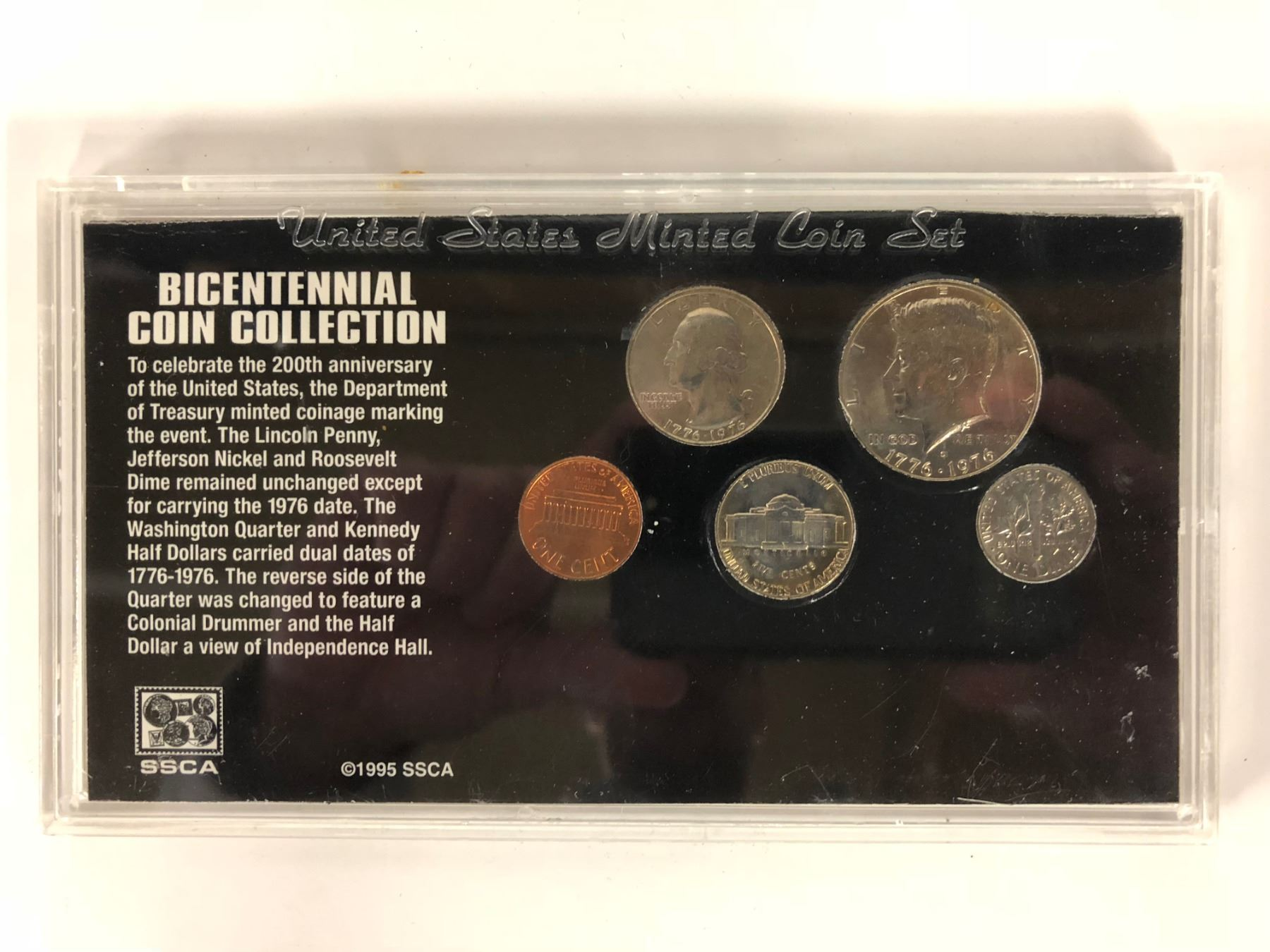 BICENTENNIAL COIN COLLECTION (UNITED STATES MINTED COIN SET)