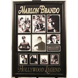 Marlon Brando Autographed Photo Collage