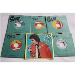 5 45 RPM Records