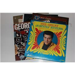 5 33 RPM Records
