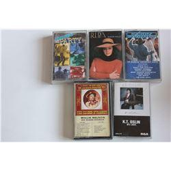 5 Cassette Tapes