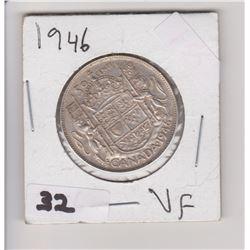1946 CNDN 50 CENT PIECE