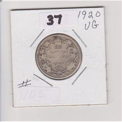 1920 CNDN 50 CENT PIECE
