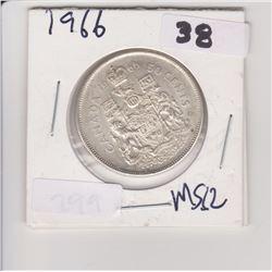 1966 CNDN 50 CENT PIECE