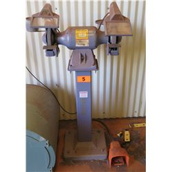 Baldor 8107WED Grinder, 3/4 HP w/ Foot Switch
