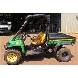 John Deere UTV 850D Gator XUV, 2713 Hours