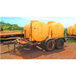 Snyder Dual-Tank Fertilizer Trailer