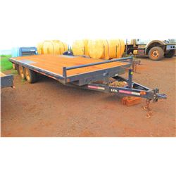 "Flatbed Trailer 12K Dual Axle, Approx. 7'10"" x 19' 7"""