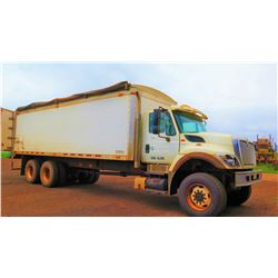 2009 International Grain Truck, Walking Floor, 18405 Miles, 3204 hours