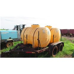 Snyder Dual-Tank Fertilizer Trailer (No Pump)