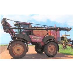 Miller 4240 Nitro Sprayer w/ Viper System, 5118.8 Hours (Includes 6 Injection Boxes)