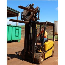Yale Electric Forklift w/Full Rotation Dumping Feature