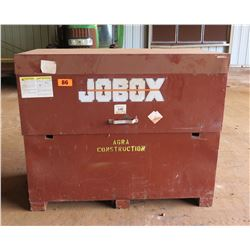"Jobox 60"" x 31"" High-Capacity Steel Locking Job Box"