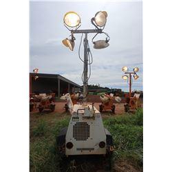 Allmand Night-Light Pro Light Tower, All 4 Lights Good