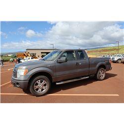 2010 Ford F-150 Pickup Truck 4x4 75,251 Miles