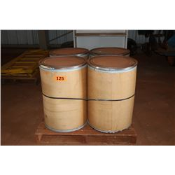 Qty 4 Storage Drums (Empty)