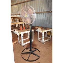 Airmaster Warehouse Fan on Stand