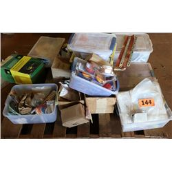 Contents of Pallet: Electrical Parts, etc.
