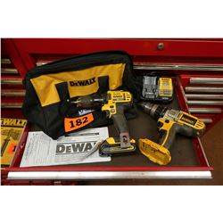 Qty 2 Dewalt Drills