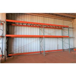 Pallet Racking System - 12' Tall (Includes 6 Uprights, 24 Crossbeams)