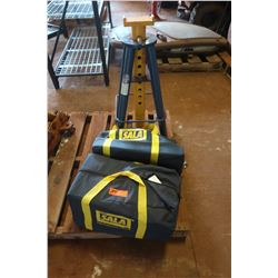 10-Ton Jack Stand and SALA Fall Arrest Gear