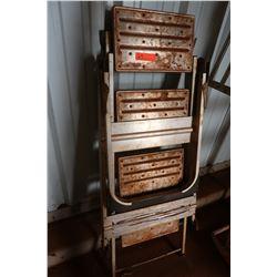 Metal Folding Ladder