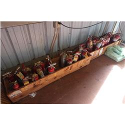 Huge Lot of Misc. Fire Extinguishers, Approx. 24