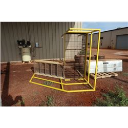 Industrial Metal Stairs and Platform