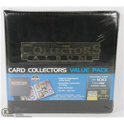 NEW ULTRA PRO COLLECTORS ALBUM CARD COLLECTORS