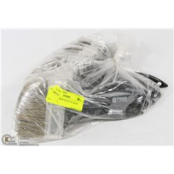 """BAG OF 10 NEW SCOUT 4"""" PAINT BRUSHES"""