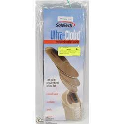 NEW SOLETECH ULTRA CLOUD INSOLES LOT OF 3