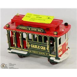 SAN FRANCISCO CABLE CAR MUSICAL BOX