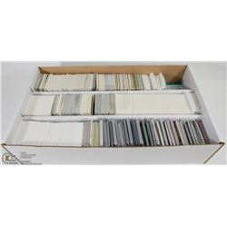 BOX OF ASSORTED CARDS INCL HOCKEY, NBA, NFL,