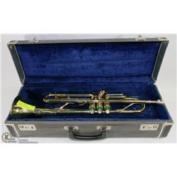 TRUMPET HUTTL MADE IN GERMANY LINE800 WITH HARD